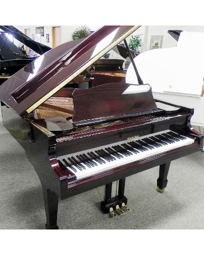 George Steck Baby Grand Piano Mahogany Polish