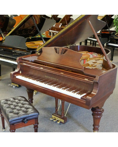 Mason & Hamlin BB Grand Piano Walnut Satin