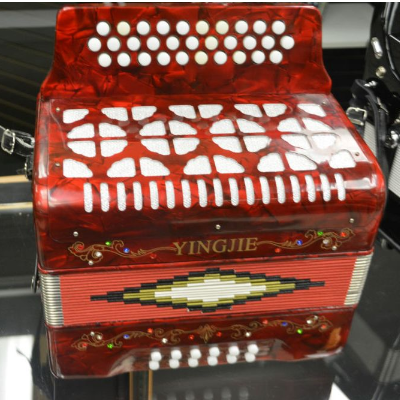 Yingjie 3 Row Button Accordion