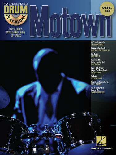 Motown - Drum Play-Along Series Volume 18