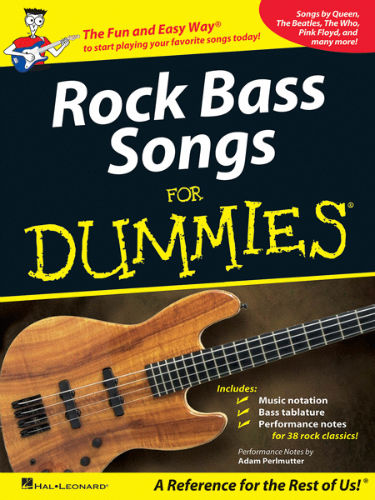 Rock Bass Songs for Dummies® - Dummies Collections Series