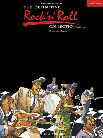 The Definitive Rock'N'Roll Collection – 2nd Edition - 95 Vintage Hits - Definitive Series