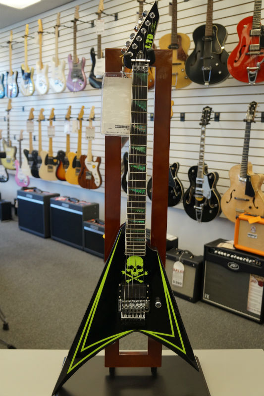 ESP Signature Series Alexi-600 Greeny Electric Guitar