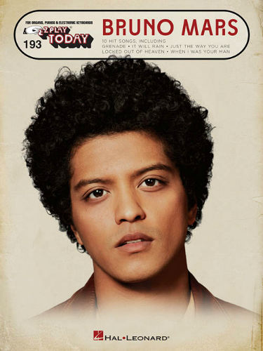 Bruno Mars - E-Z Play® Today Series Volume 193
