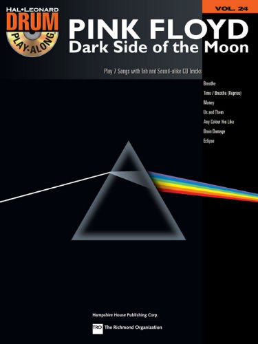 Pink Floyd – Dark Side of the Moon - Drum Play-Along Series Volume 24