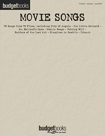Movie Songs - 76 Songs from 73 Films - Budget Books Series