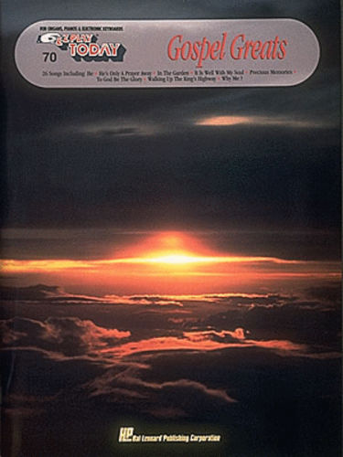 Gospel Greats - E-Z Play?? Today Series Volume 70