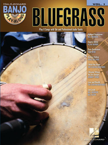 Bluegrass - Banjo Play-Along Volume 1 Book and CD