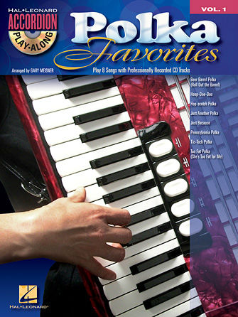 Polka Favorites Book and CD