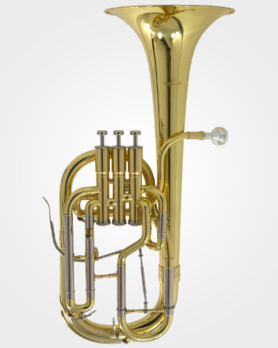 Schiller Edinburg Elite Alto Horn - Gold with Rose Brass Bell