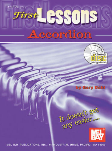 First Lessons Accordion Book and CD