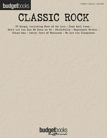 Classic Rock - Budget Books Series
