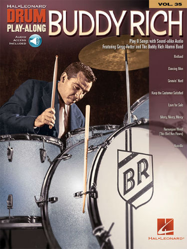 Buddy Rich - Drum Play-Along Series Volume 35