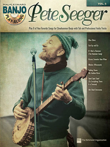 Pete Seeger - Banjo Play-Along Volume 5 Book and CD