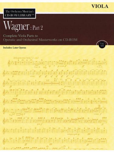 Wagner: Part 2 – Volume 12 - CD Sheet Music Series – CD-ROM