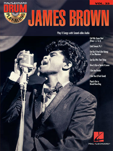 James Brown - Drum Play-Along Series Volume 33