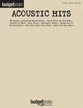 Acoustic Hits - Budget Books Series