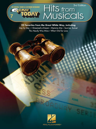 Hits from Musicals – 3rd Edition - E-Z Play® Today Series Volume 7