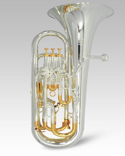 Schiller Elite V Compensating Euphonium - Silver & Gold