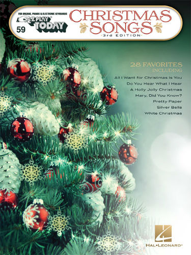 Christmas Songs – 3rd Edition - E-Z Play® Today Series Volume 59