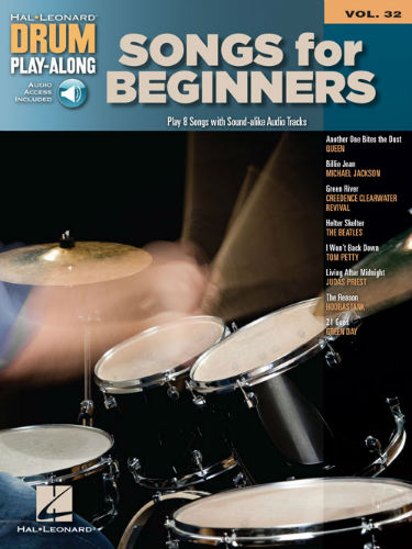 Songs for Beginners - Drum Play-Along Series Volume 32