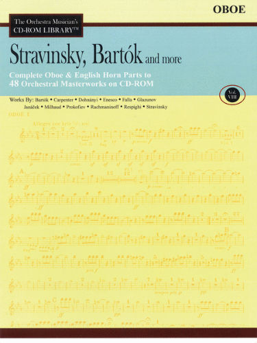 Stravinsky, Bartók and More – Vol. 8 - CD Sheet Music Series - CD-ROM