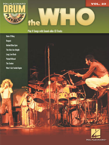 The Who - Drum Play-Along Series Volume 23