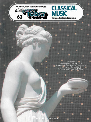Classical Music - E-Z Play?? Today Series Volume 63