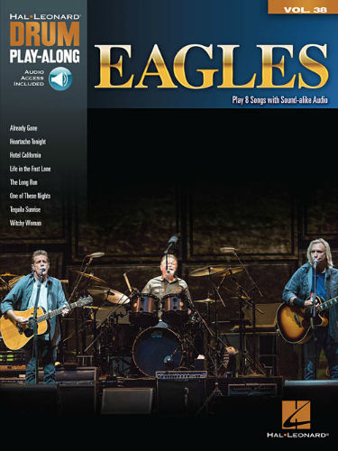 Eagles - Drum Play-Along Series Volume 38