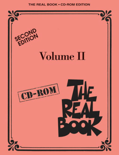 The Real Book C Edition – Volume II – Second Edition  - Real Book Series - CD-ROM