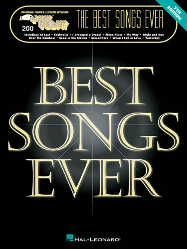 The Best Songs Ever – 7th Edition - E-Z Play® Today Series Volume 200