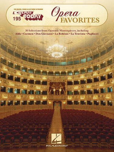 Opera Favorites - E-Z Play® Today Series Volume 195