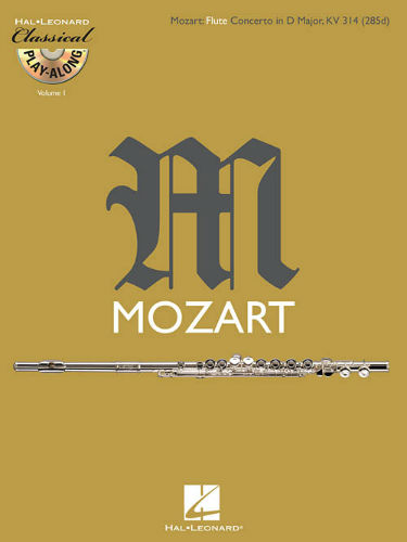 Flute Concerto in D Major, K. 314 - Classical Play-Along Series Volume 1