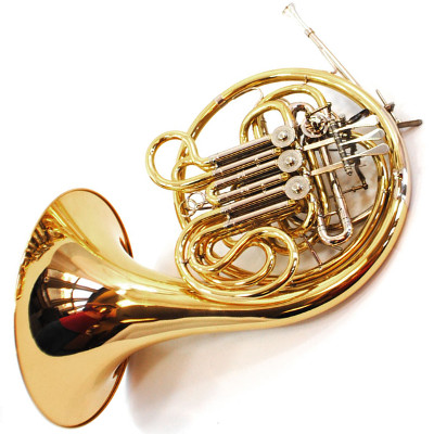 Schiller American Elite VI French Horn - Gold Lacquer