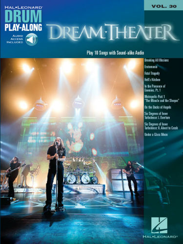 Dream Theater - Drum Play-Along Series Volume 30