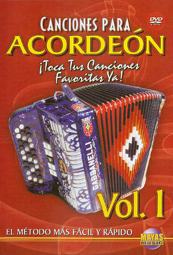 Canciones para Acordeon Volumen 1 DVD