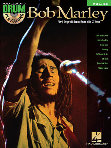 Bob Marley - Drum Play-Along Series Volume 25