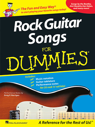 Rock Guitar Songs for Dummies® - Dummies Collections Series