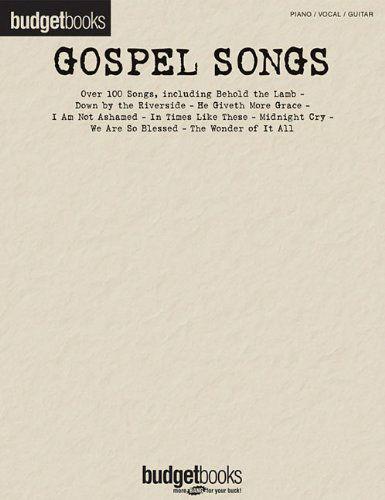 Gospel Songs - Budget Books Series