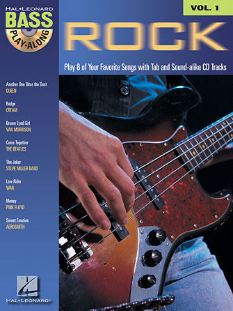 Rock - Bass Play-Along Volume 1 Book and CD