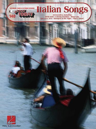 Italian Songs - E-Z Play?? Today Series Volume 148