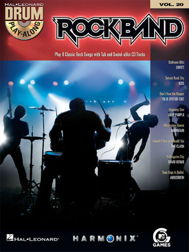 Rock Band - Drum Play-Along Series Volume 20