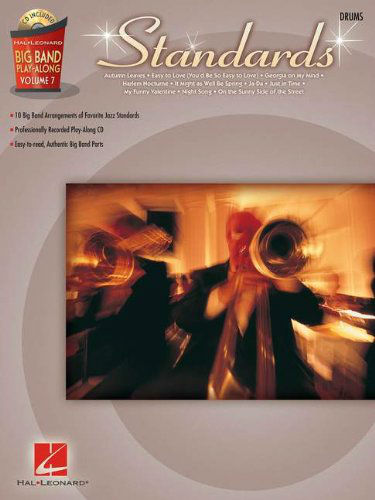 Standards – Drums - Big Band Play-Along Volume 7