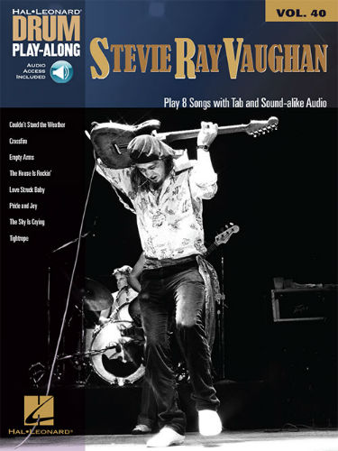 Stevie Ray Vaughan - Drum Play-Along Series Volume 40