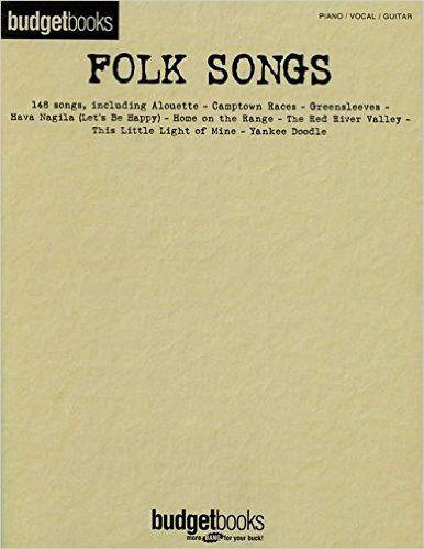 Folk Songs - Budget Books Series