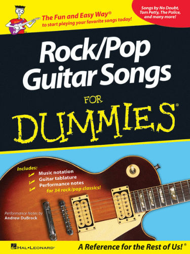 Rock/Pop Guitar Songs for Dummies® - Dummies Collections Series