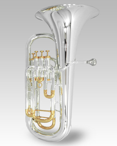 Schiller Elite IV Euphonium Silver & Gold