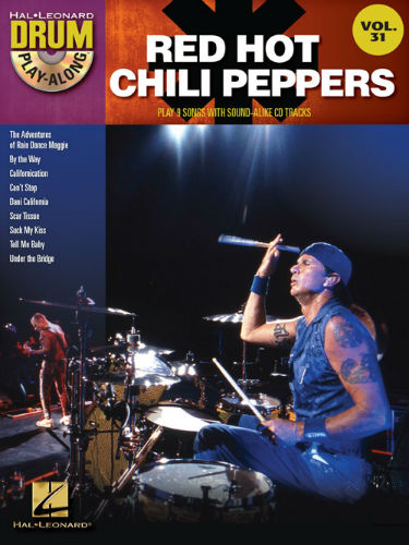 Red Hot Chili Peppers - Drum Play-Along Series Volume 31