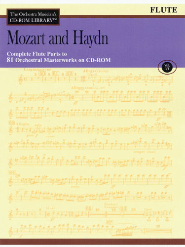 Mozart and Haydn – Volume 6 - CD Sheet Music Series - CD-ROM