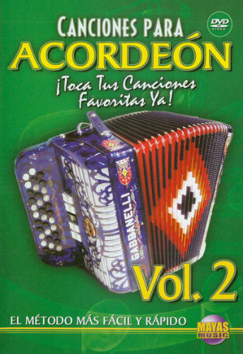 Canciones para Acordeon Volumen 2 DVD